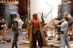 On Set of Hellboy II: The Golden Army (2008)