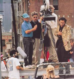 Filming Wild at Heart (1990) - Behind the Scenes photos