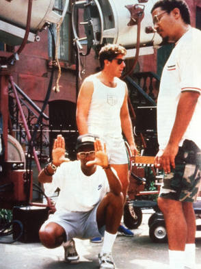 From the Film Do the Right Thing (1989) - Behind the Scenes photos