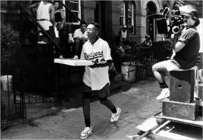 Filming Do the Right Thing (1989) - Behind the Scenes photos