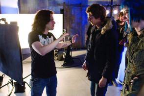 Edgar Wright Directs - Behind the Scenes photos