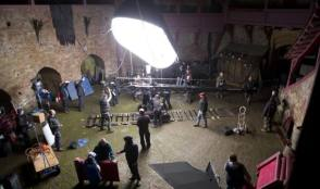 On Location : Da Vinci's Demons (2013) - Behind the Scenes photos