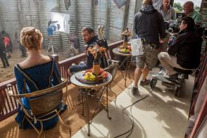 On Set of Da Vinci's Demons (2013) - Behind the Scenes photos