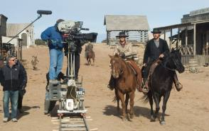 Filming 3:10 to Yuma (2007) - Behind the Scenes photos