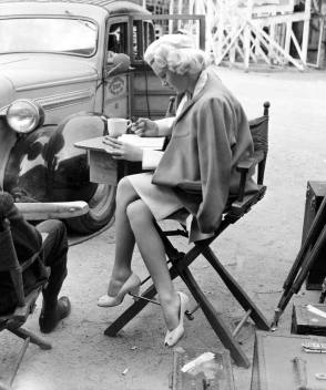 On the Set of The Postman Always Rings Twice (1946)