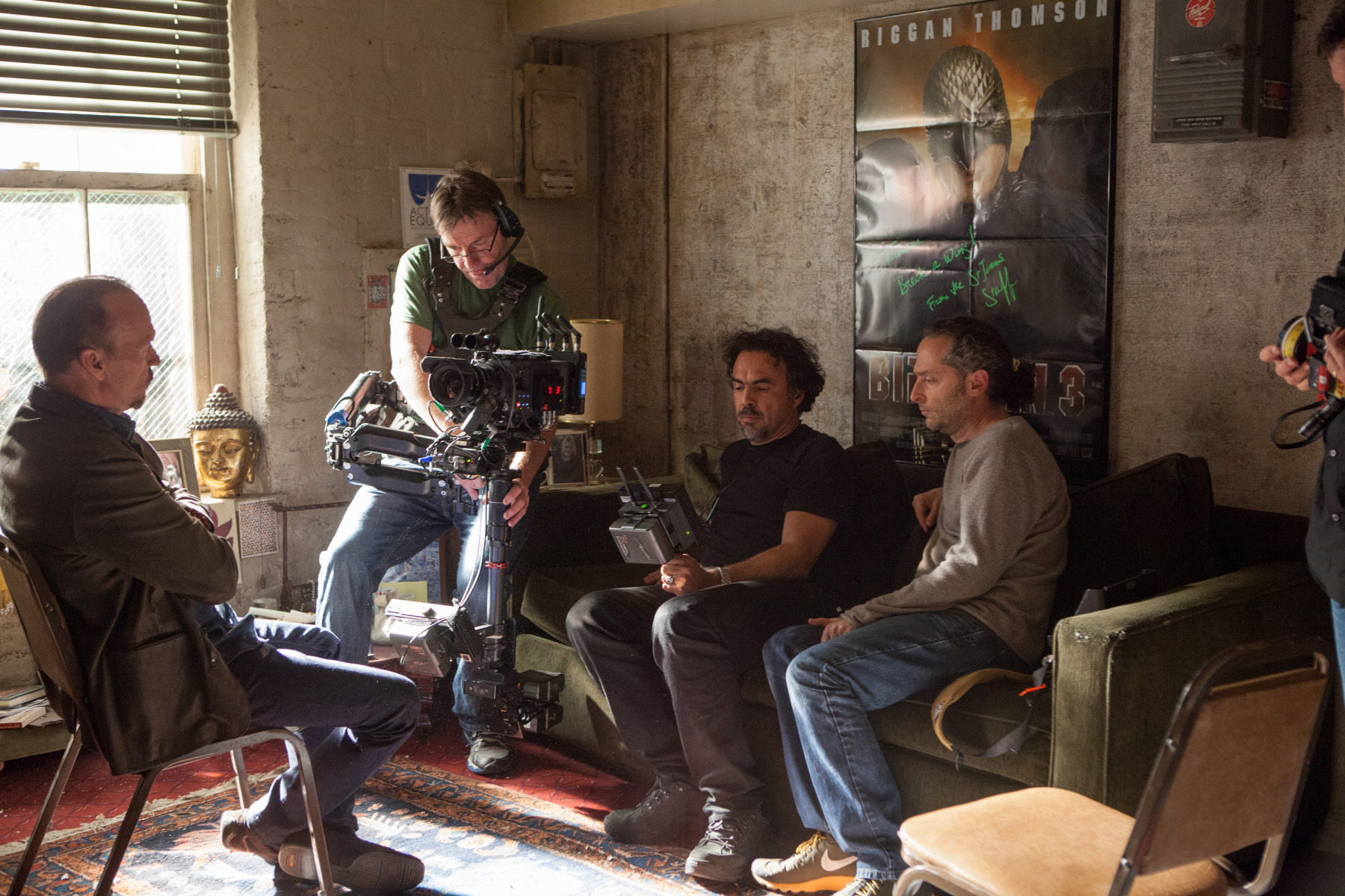 Birdman or (The Unexpected Virtue of Ignorance) Behind the Scenes Photos & Tech Specs