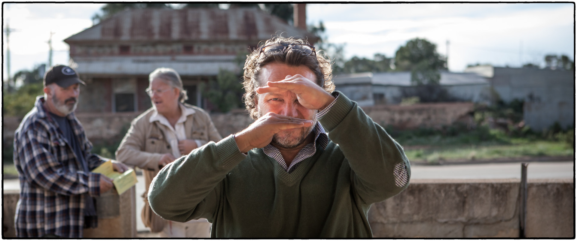Jeremy Simms, Director- Last Cab to Darwin Behind the Scenes