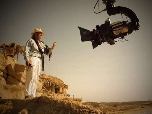 Vittorio Storaro on the set of Muhammad(2015) Behind the Scenes