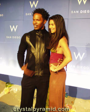 Jamie Foxx and Roslyn Sanchez - Behind the Scenes photos