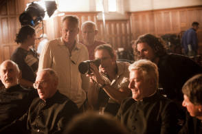 On the set of Oranges and Sunshine - Behind the Scenes photos