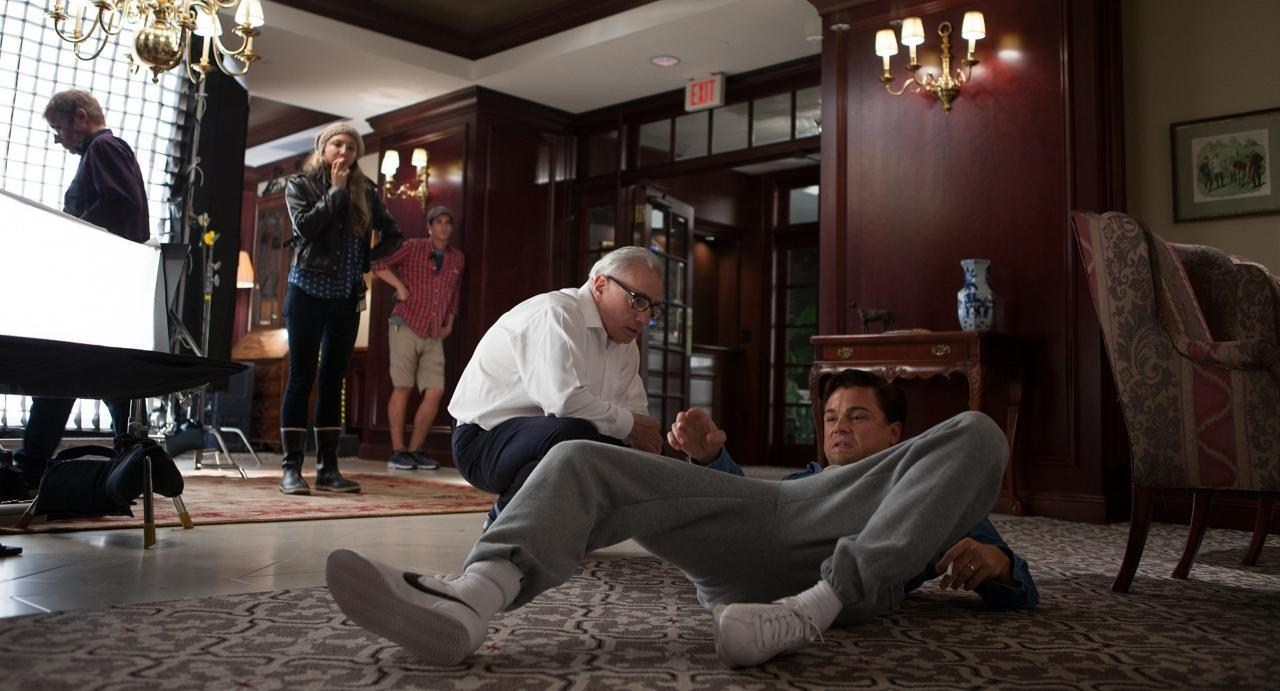 The Wolf of Wall Street Behind the Scenes Photos & Tech Specs