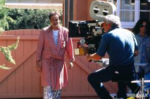 Quentin Tarantino – Pulp Fiction - Behind the Scenes photos