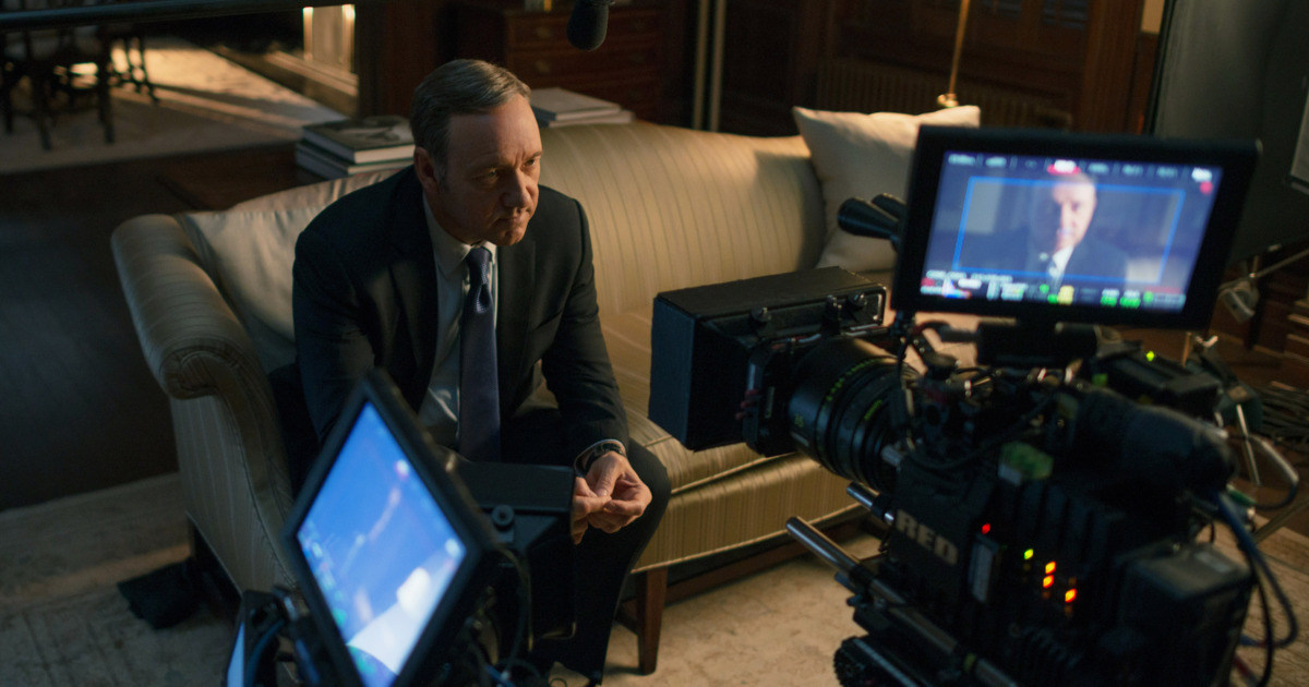 House of Cards Behind the Scenes Photos & Tech Specs