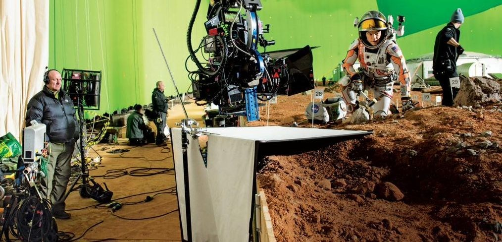 The Martian Behind the Scenes Photos & Tech Specs