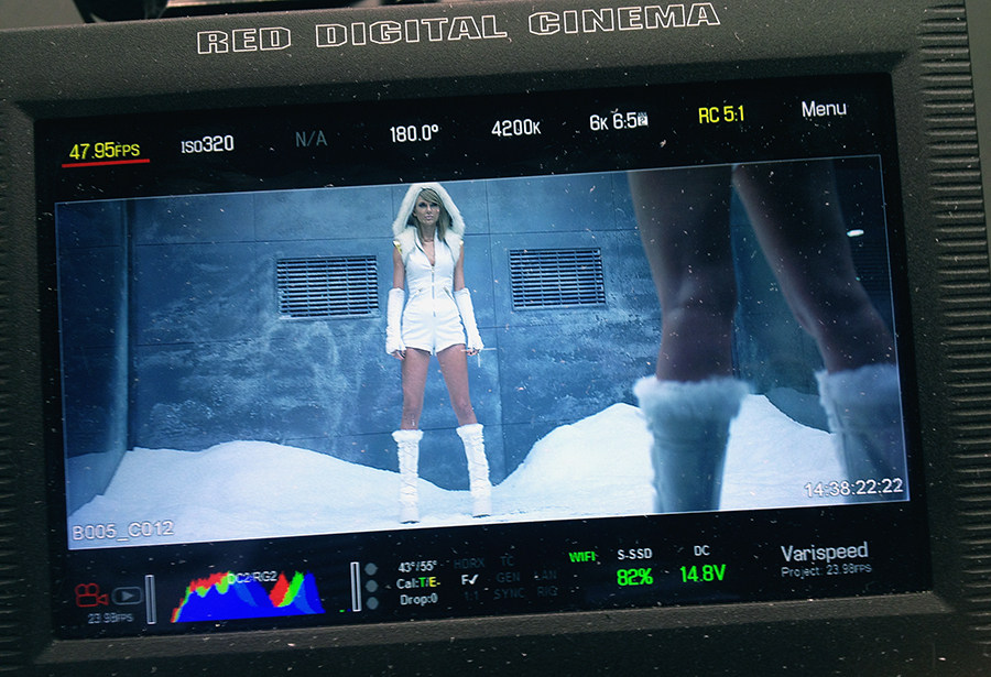 Taylor Swift – Bad Blood, Music Video Behind the Scenes
