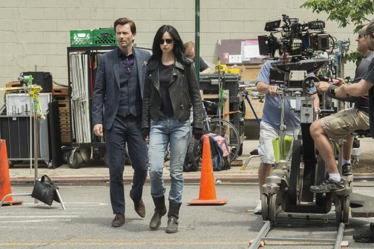 Jessica Jones Behind the Scenes