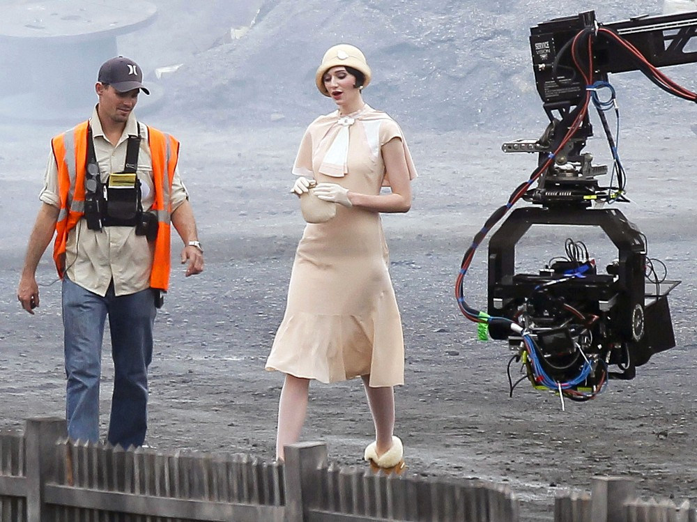 The Great Gatsby Behind the Scenes Photos & Tech Specs
