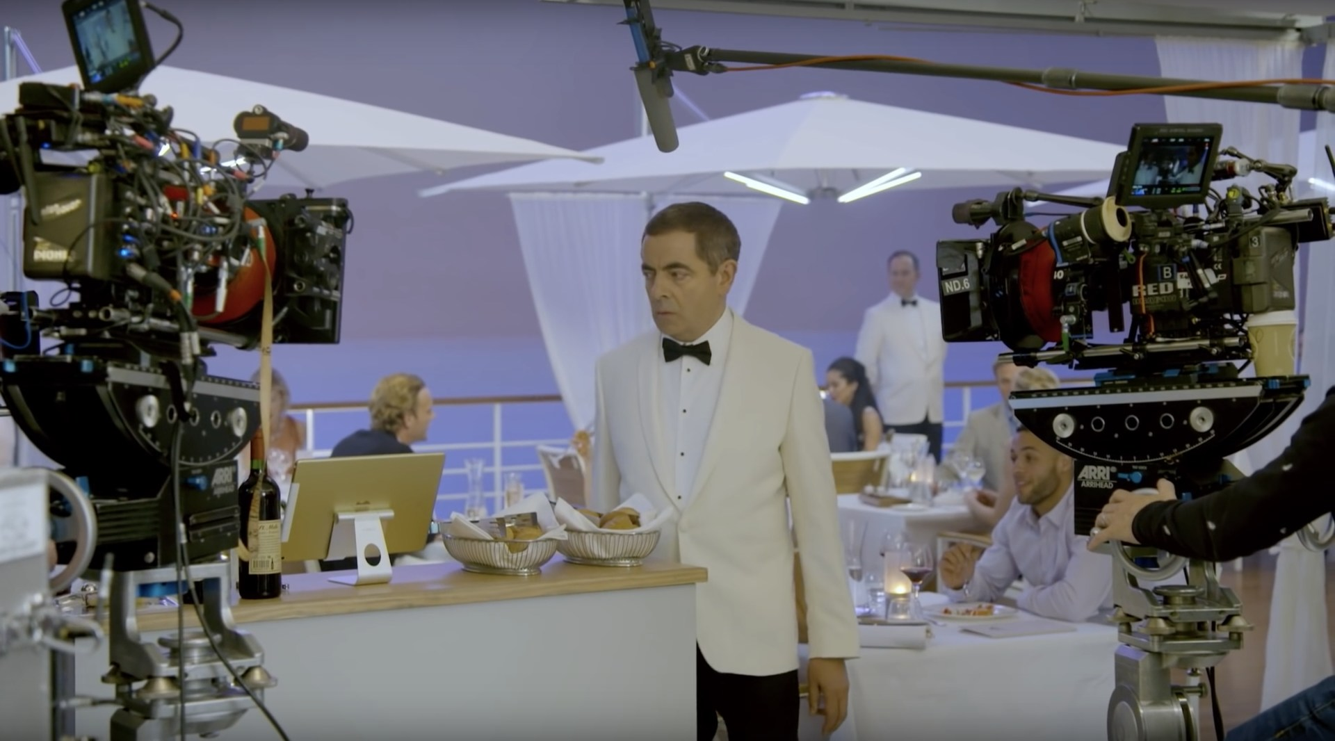 Johnny English Strikes Again Behind the Scenes