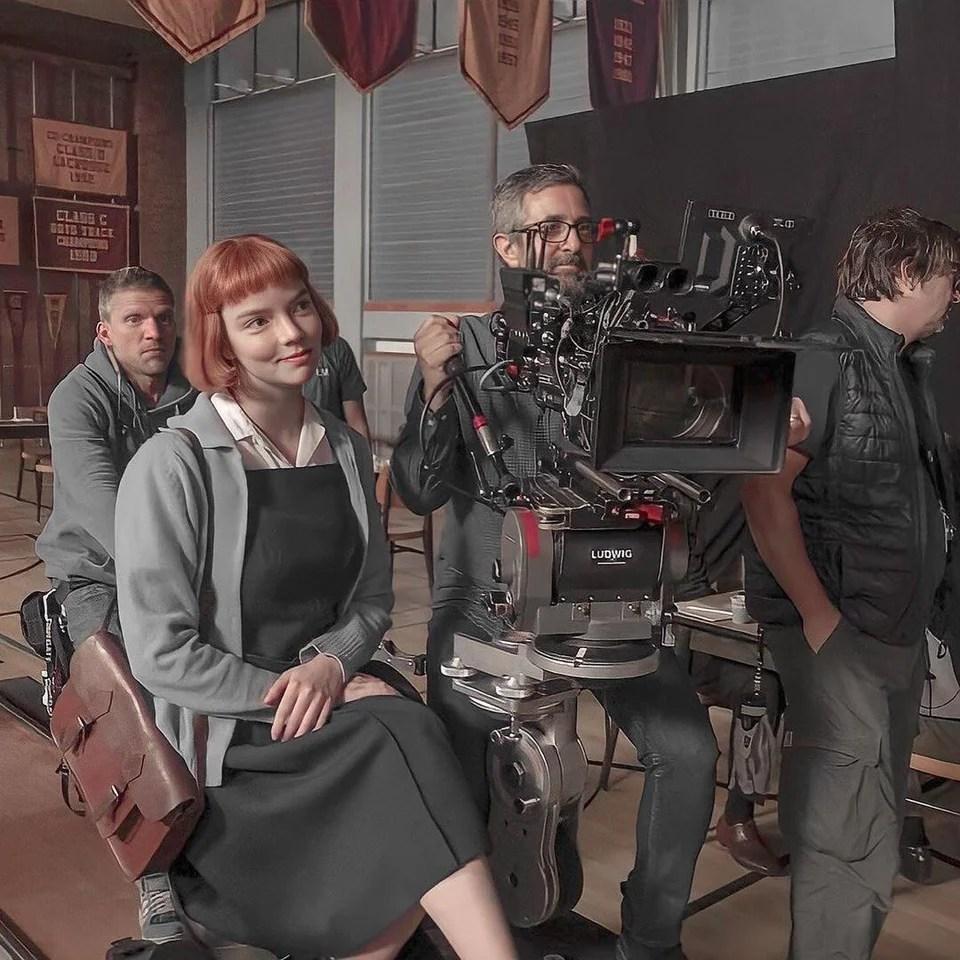 The Queen's Gambit Behind the Scenes