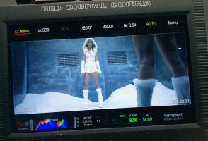 Taylor Swift – Bad Blood, Music Video - Behind the Scenes photos