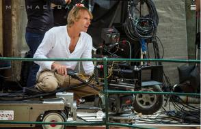 Michael Bay - Behind the Scenes photos