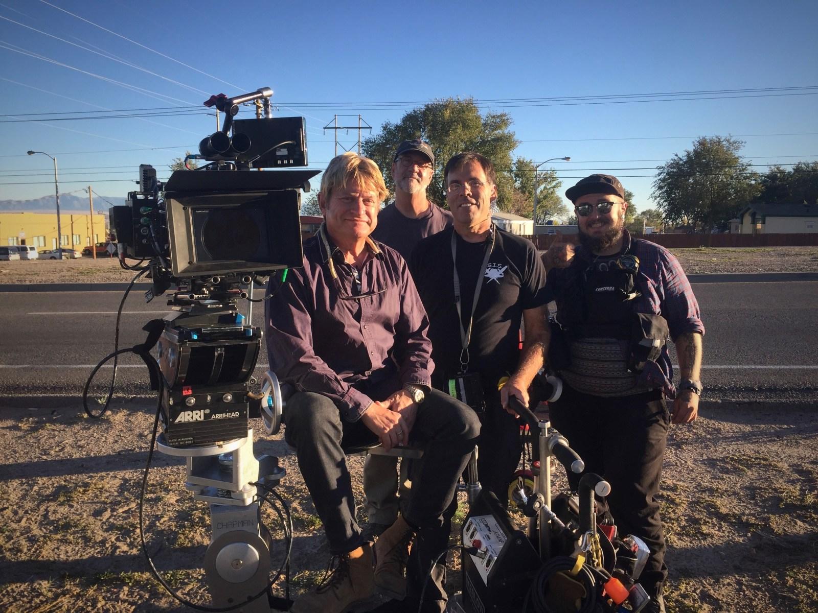 B Cam crew Behind the Scenes