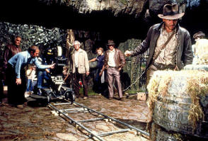 Filming Indiana Jones - Behind the Scenes photos