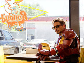 Iron Man 2 - Behind the Scenes photos