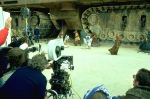 Star Wars Sand Crawler - Behind the Scenes photos