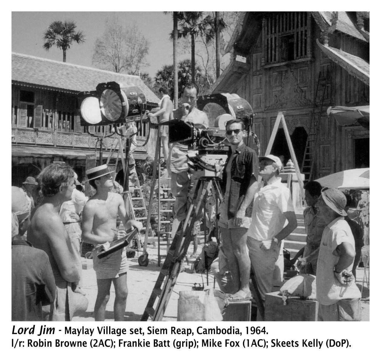 Lord Jim Behind the Scenes