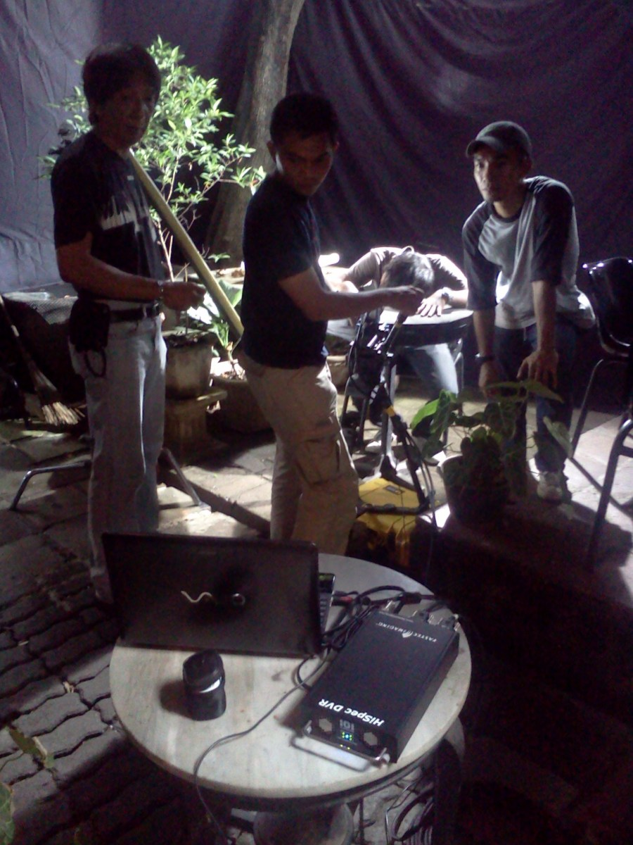 Filming Kamis Ke 300 (2013) Behind the Scenes