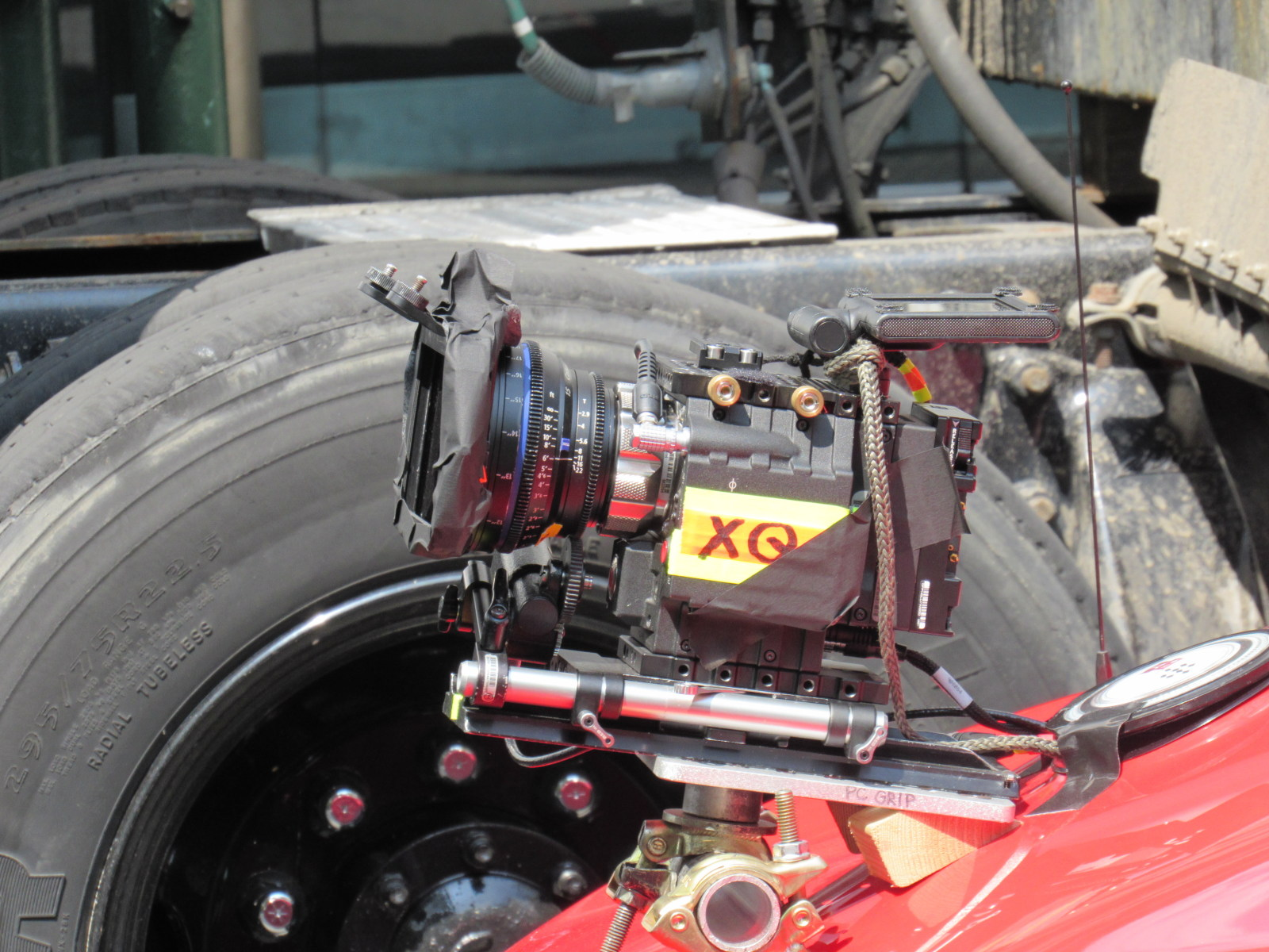 Red Epic on Fast 8 Filming Behind the Scenes