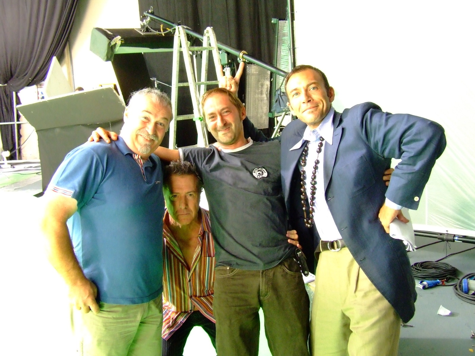 On Set in Milan Behind the Scenes
